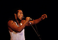 Ziggy Marley, son of the late Reggae superstar Bob Marley, performs at the Reggae Sunsplash festival in July 1991, in Montego Bay, Jamaica. Bob Marley died of cancer in a Miami hospital at the age of 36 on May 11, 1981. (Photo by Roger M. Richards)