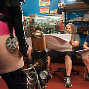 "A photo from the production of  ""Comic Book Men""  on AMC"