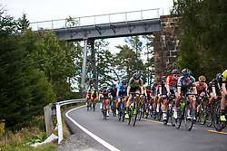 Riejanne Markus (NED) speeds through Prestebakke at Ladies Tour of Norway 2018 Stage 3. A 154 km road race from Svinesund to Halden, Norway on August 19, 2018. Photo by Sean Robinson/velofocus.com