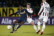 Onderwerp/Subject: Willem II - PSV - Eredivisie<br /> Reklame:  <br /> Club/Team/Country: <br /> Seizoen/Season: 2012/2013<br /> FOTO/PHOTO: Jordens PETERS (C) of Willem II in duel with Atiba HUTCHINSON (L) of PSV and Danny GUIJT (RR) of Willem II. (Photo by PICS UNITED)<br /> <br /> Trefwoorden/Keywords: <br /> #04 $94 &plusmn;1355239962240<br /> Photo- &amp; Copyrights &copy; PICS UNITED <br /> P.O. Box 7164 - 5605 BE  EINDHOVEN (THE NETHERLANDS) <br /> Phone +31 (0)40 296 28 00 <br /> Fax +31 (0) 40 248 47 43 <br /> http://www.pics-united.com <br /> e-mail : sales@pics-united.com (If you would like to raise any issues regarding any aspects of products / service of PICS UNITED) or <br /> e-mail : sales@pics-united.com   <br /> <br /> ATTENTIE: <br /> Publicatie ook bij aanbieding door derden is slechts toegestaan na verkregen toestemming van Pics United. <br /> VOLLEDIGE NAAMSVERMELDING IS VERPLICHT! (&copy; PICS UNITED/Naam Fotograaf, zie veld 4 van de bestandsinfo 'credits') <br /> ATTENTION:  <br /> &copy; Pics United. Reproduction/publication of this photo by any parties is only permitted after authorisation is sought and obtained from  PICS UNITED- THE NETHERLANDS