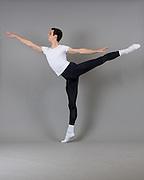 Dillon Perry poses for his professional Ballet Audition Photos in Los Gatos, California, on December 31, 2014. (Stan Olszewski/SOSKIphoto)