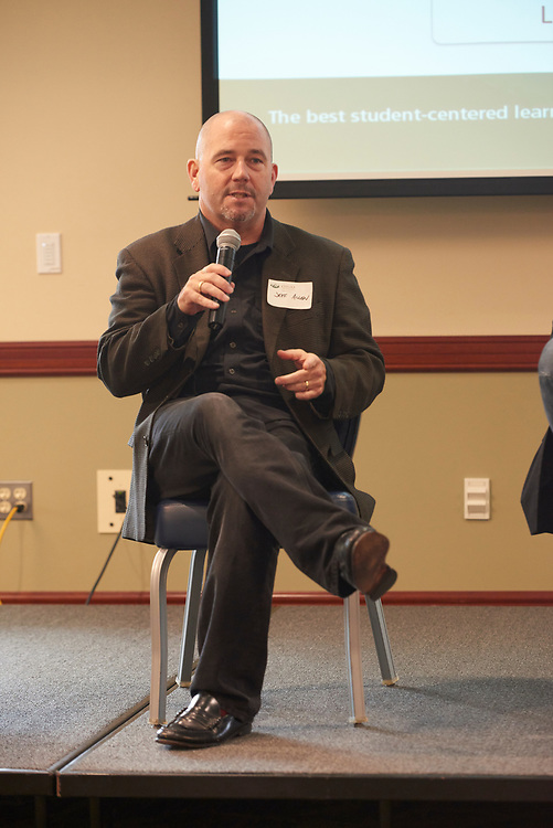 Jeff Allen talks about his professional expereinces as part of the Q&A Panel.