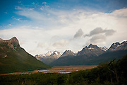 Valle Carbajal, nessr Ushuaia, Tierra del Fuego, southernmost city in the world.