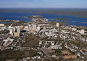 Yellowknife, NT Aerial.2009.