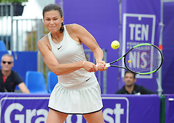 May 23, 2018 - Strasbourg, France - NATALIA VIKHLYANTSEVA of Russia during Internationaux de tennis de Strasbourg. (Credit Image: © Panoramic via ZUMA Press)