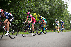 Roos Hoogeboom (NED) of Bizkaia-Durango Cycling Team rides in the break up on the climb to Buchenwald on Stage 3 of the Lotto Thuringen Ladies Tour - a 124 km road race, starting and finishing in Weimar on July 15, 2017, in Thuringen, Germany. (Photo by Balint Hamvas/Velofocus.com)
