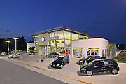 King Volkswagen of Gaithersburg Maryland by architectural photographer Jeffrey Sauers of Commercial Photographics