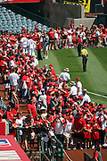 ANAHEIM, CA - AUGUST 24:  Los Angeles Angels of Anaheim players meet with fans to pose for pictures and sign autographs during Photo Day before the game against the Minnesota Twins at Angel Stadium on August 24, 2008 in Anaheim, California. The Angels defeated the Twins 5-3. ©Paul Anthony Spinelli