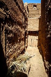 An alley leading to a house in Kasbah Ramala, Morocco<br /> <br /> (c) Andrew Wilson   Edinburgh Elite media