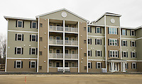 Lakes Region Community College offers two bedroom apartment units for their students.  (Karen Bobotas/for the Laconia Daily Sun)