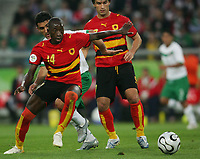 v.l.  Mendonca, Zinha Mexiko dahinter, Figueiredo<br />