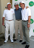 Sep 23, 2002; Pacific Palisades, California, USA; BUD YORKIN, JAMES WOOD and THOMAS GIBSON have a laugh at the arrivals of the Fifth Annual AFI Golf Classic @ the Riviera Country Club.<br />Mandatory Credit: Photo by Shelly Castellano/ZUMA Press.<br />(©) Copyright 2002 by Shelly Castellano