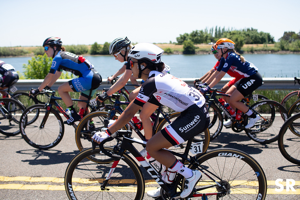 Coryn Rivera (USA) of Team Sunweb rides mid-pack during Stage 1 of the Amgen Tour of California - a 124 km road race, starting and finishing in Elk Grove on May 17, 2018, in California, United States. (Photo by Balint Hamvas/Velofocus.com)