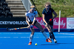 Reading Rockets v Repton - Investec Women's T3 Final, Lee Valley Hockey & Tennis Centre, London, UK on 05 May 2018. Photo: Simon Parker