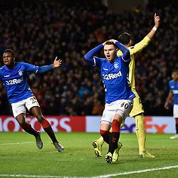 Rangers v Villareal, Europa League, 29 November 2018