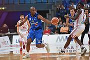 Landry marcus<br /> Vuelle VL Pesaro - Germani Leonessa Basket Brescia<br /> Lega Basket Serie A 2017/2018<br /> Pesaro, 01/10/2017<br /> Foto GiulioCiamillo / Ciamillo - Castoria