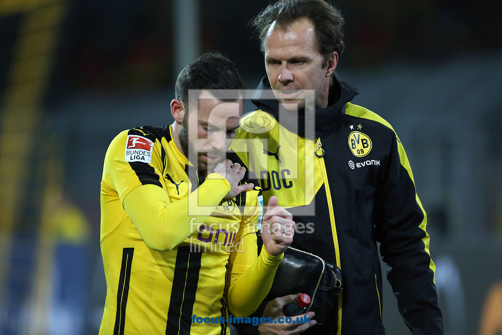 Gonzalo Castro of Borussia Dortmund during the Bundesliga match at Signal Iduna Park, Dortmund<br /> Picture by EXPA Pictures/Focus Images Ltd 07814482222<br /> 17/03/2017<br /> *** UK &amp; IRELAND ONLY ***<br /> EXPA-EIB-170318-0062.jpg