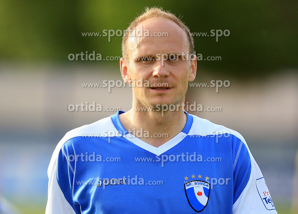 Milan Osterc of Gorica at 32th Round of Slovenian First League football match between NK Domzale and NK Hit Gorica in Sports park Domzale, on May 6, 2009, in Domzale, Slovenia. Gorica won 2:0. (Photo by Vid Ponikvar / Sportida)