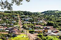 Vista da cidade. Descanso, Santa Catarina, Brasil. / <br /> City view. Descanso, Santa Catarina, Brazil.