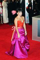 Lily Allen, British Academy Film Awards - BAFTAS, Royal Opera House, London UK, 16 February 2014, Photo by Richard Goldschmidt