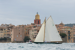 France Saint Tropez, October 1st, Centenary Trophy 2015 organised by the Gstaad Yacht Club in cooperation with Societe Nautique de Saint Tropez.<br /> Winner 2015 is Oriole, followed by Olympian Mignon and Folly.