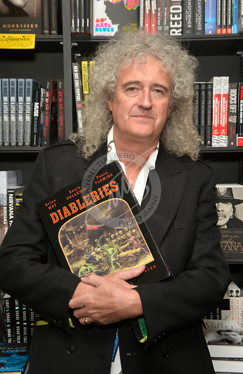 This was one of my definite high points in my recent career--the chance to be able to photograph the great Brian May of Queen. This was shot at the Book Soup bookstore in West Hollywood. Brian and I have conversed on occasion (usually via email), and I was very pleasantly surprised to find that he'd remembered who I was at this event. A good man and a rock legend.<br />