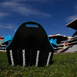 DURBAN, SOUTH AFRICA - MAY 19: General views of Powerade during the Super Rugby match between Cell C Sharks and Chiefs at Jonsson Kings Park on May 19, 2018 in Durban, South Africa. (Photo by Steve Haag/Gallo Images)