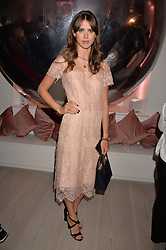 Sabrina Percy at the Tatler's English Roses 2017 party in association with Michael Kors held at the Saatchi Gallery, London England. 29 June 2017.