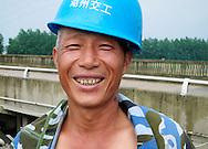 Integrated fish farming, Shezhong Village, Linghu County, Zhejiang Province, China.