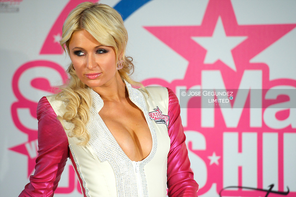 Paris Hilton Presents 'SUPERMARTXE VIP Team by Paris Hilton' at ME Hotel on December 18, 2010 in Madrid, Spain