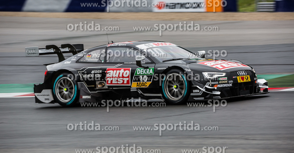 02.08.2015, Red Bull Ring, Spielberg, AUT, DTM Red Bull Ring, Qualifying, im Bild Timo Scheider (GER, Audi RS 5 DTM) // during the DTM Championships 2015 at the Red Bull Ring in Spielberg, Austria, 2015/08/02, EXPA Pictures © 2015, PhotoCredit: EXPA/ Dominik Angerer