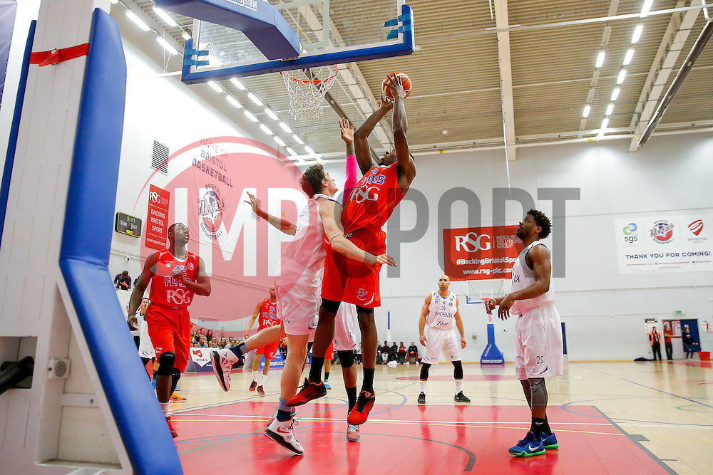 Tyrone Lee of Bristol Flyers - Mandatory byline: Rogan Thomson/JMP - 18/03/2016 - BASKETBALL - SGS Wise Arena - Bristol, England - Bristol Flyers v Cheshire Pheonix - BBL Championship.