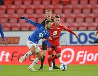 Fotball , 6. oktober 2019 , Eliteserien , Brann - Molde<br />  Ruben Yttergård Jenssen , Brann<br /> Magnus Wolff Eikrem , Molde