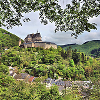 Ch&acirc;teau de Vianden in Vianden, Luxembourg<br />