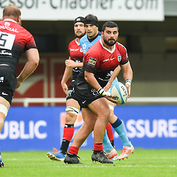 Clement CASTETS of Toulouse  during the Top 14 match between Montpellier and Toulouse on October 19, 2019 in Montpellier, France. (Photo by Alexandre Dimou/Icon Sport) - Clement CASTETS - Altrad Stadium - Montpellier (France)