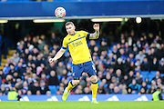 Scunthorpe's Jack King on the ball during the The FA Cup third round match between Chelsea and Scunthorpe United at Stamford Bridge, London, England on 10 January 2016. Photo by Shane Healey.