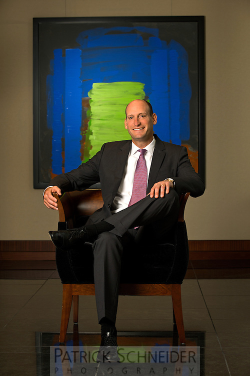 Executive Portrait photography of David Gitlin, President of UTC Aerospace Systems at the Charlotte, North Carolina offices.<br /> <br /> Charlotte Photographer - PatrickSchneiderPhoto.com