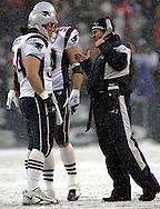 Bill Belichick and Tedy Bruschi, New England Patriots @ Buffalo Bills, 11 Dec 05, 1pm, Ralph Wilson Stadium, Orchard Park, NY