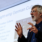 Professor David Pace lectures on German culture and politics in the 1920s.