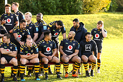 The 2019/20 Wasps Squad pose for a picture - Mandatory by-line: Robbie Stephenson/JMP - 18/11/2019 - RUGBY - Broadstreet Rugby Football Club - Coventry , Warwickshire - Wasps Squad Photo