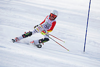 Tony Buttinger Memorial Slalom at Gunstock February 3, 2013.  Karen Bobotas Photographer