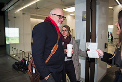 © Licensed to London News Pictures. 22/01/2018. London, UK. Labour MP JON TRICKETT arrives at Labour Party headquarters ahead of an NEC (National Executive Committee) meeting. A number of pro Corbyn party members have recently been elected to the NEC, in what has been seen as a shift to the left for the ruling body. Photo credit: Ben Cawthra/LNP
