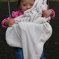 Libby Ezell | BUY at PHOTOS.DJOURNAL.COM<br /> Anna Brooke Bryant, 4 swings on the playground at the Buddy Walk Saturday