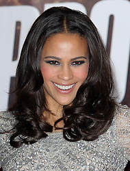 Paula Patton  arriving for the Mission Impossible Ghost Protocol premiere in London, Tuesday 13th December 2011. Photo by: Stephen Lock / i-Images<br /> File Photo - Robin Thicke And Paula Patton announce split. <br /> <br /> Blurred Lines singer Robin Thicke and actress Paula Patton have announced they are to separate after nearly 10 years of marriage.<br /> Photo by: Stephen Lock / i-Images. Picture filed Tuesday 25th Feb, 2014.