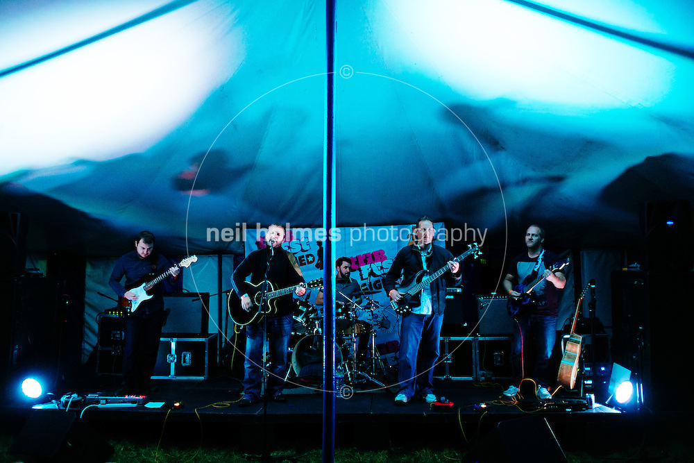 Sledmere House, Sledmere, East Yorkshire, United Kingdom, 16 August, 2014. Pictured: Tribfest 2014 Cubadrive