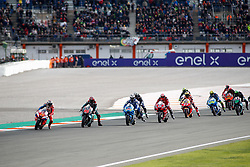 November 17, 2019, Cheste, VALENCIA, SPAIN: Jack Miller, rider of Pramac Racing from Australia, Fabio Quartararo, rider of Petronas Yamaha SRT from France, leads during the Race of the Valencia Grand Prix of MotoGP World Championship celebrated at Circuit Ricardo Tormo on November 16, 2019, in Cheste, Spain. (Credit Image: © AFP7 via ZUMA Wire)