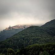 Antico villaggio sulle colline dell'Isola d'Elba..An ancient village on the Elba Island hills