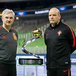 20180209: SLO, Futsal - UEFA Futsal Euro 2018, Press conference of finalists