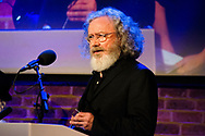 Composer James Dillon<br /> Winner of the RPS Music Award for Chamber-Scale Composition<br /> Photographed at the RPS Music Awards, London, Wednesday 9 May<br /> Photo credit required:  Simon Jay Price<br /> www.rpsmusicawards.com  #RPSMusicAwards