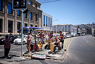 Music band on the streets in Valparaíso, Chile
